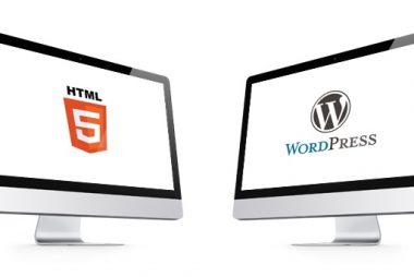 Que es mejor web html o wordpress